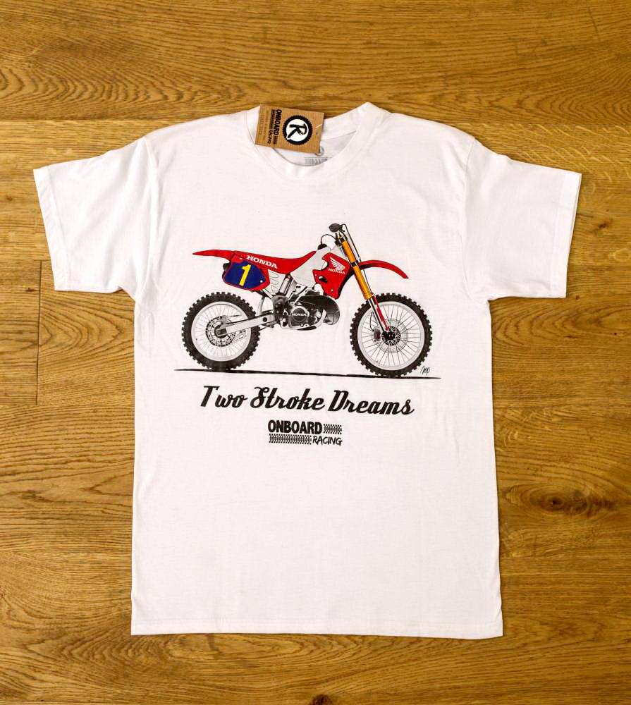 Camiseta Onboard Racing Two Stroke Honda