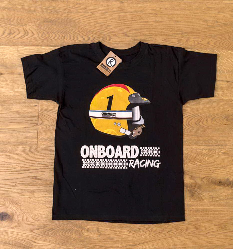 Camiseta Onboard Racing casco