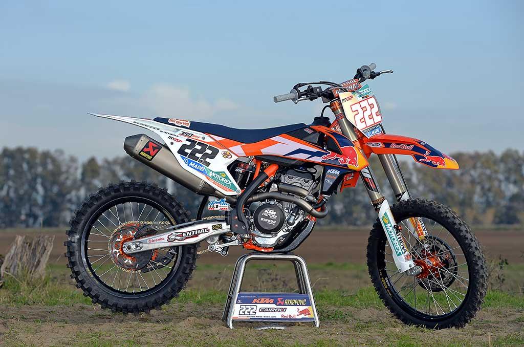 moto de 350